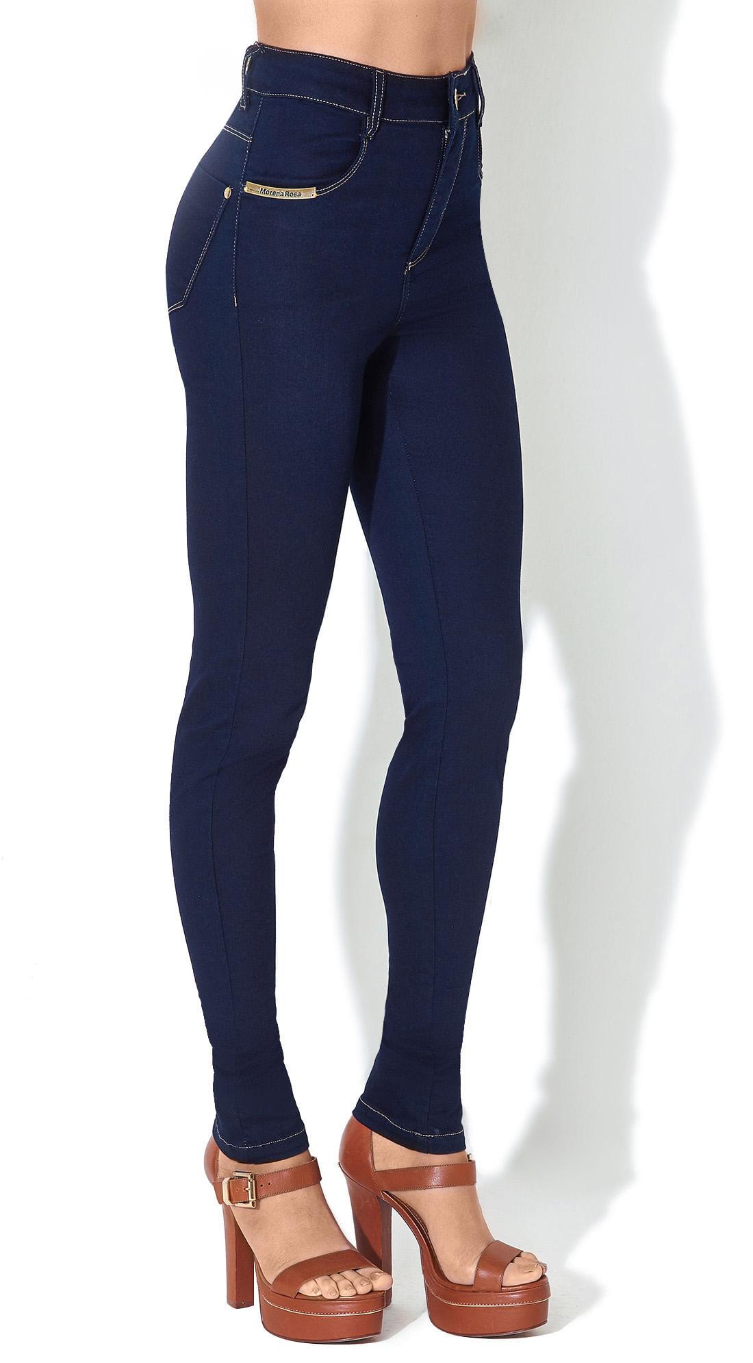 58577119a1 Calca Jeans Andreia Cos Alto Hypercurve Jeans - morenarosa