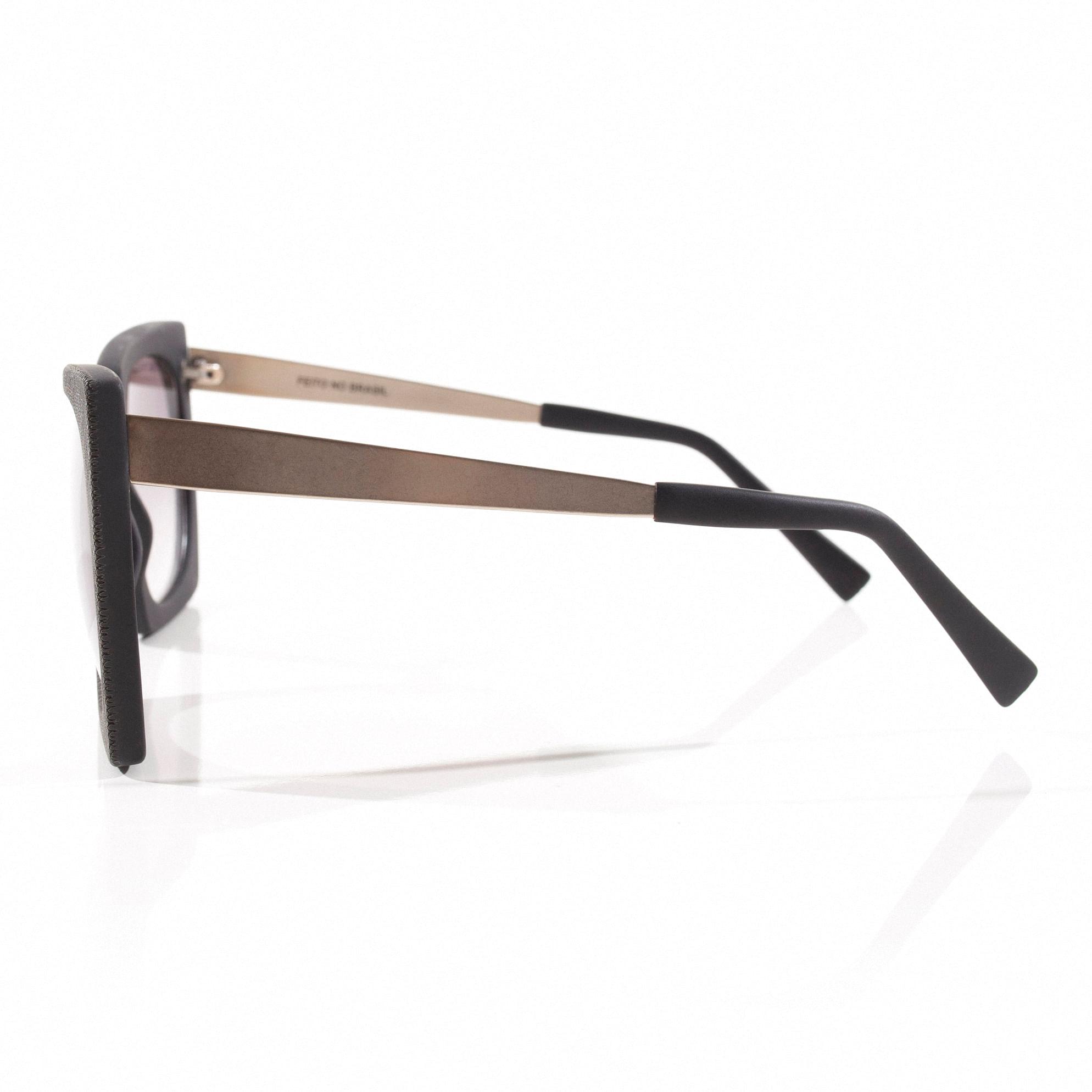 88a7ac967e64d Oculos Squared Texturizado Preto - morenarosa