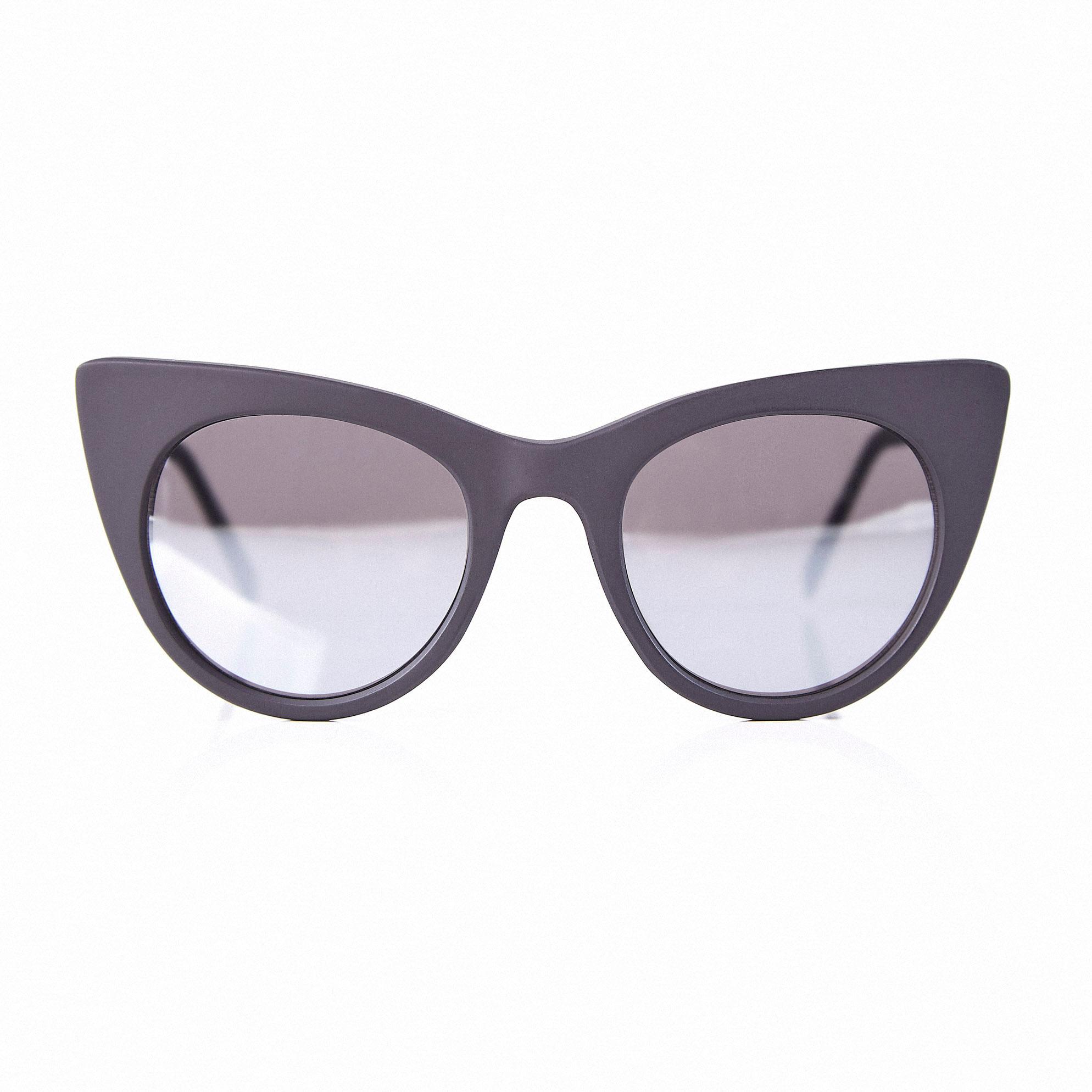 c334976367b26 Oculos Gatinho Com Lente Espelhada Preto - morenarosa