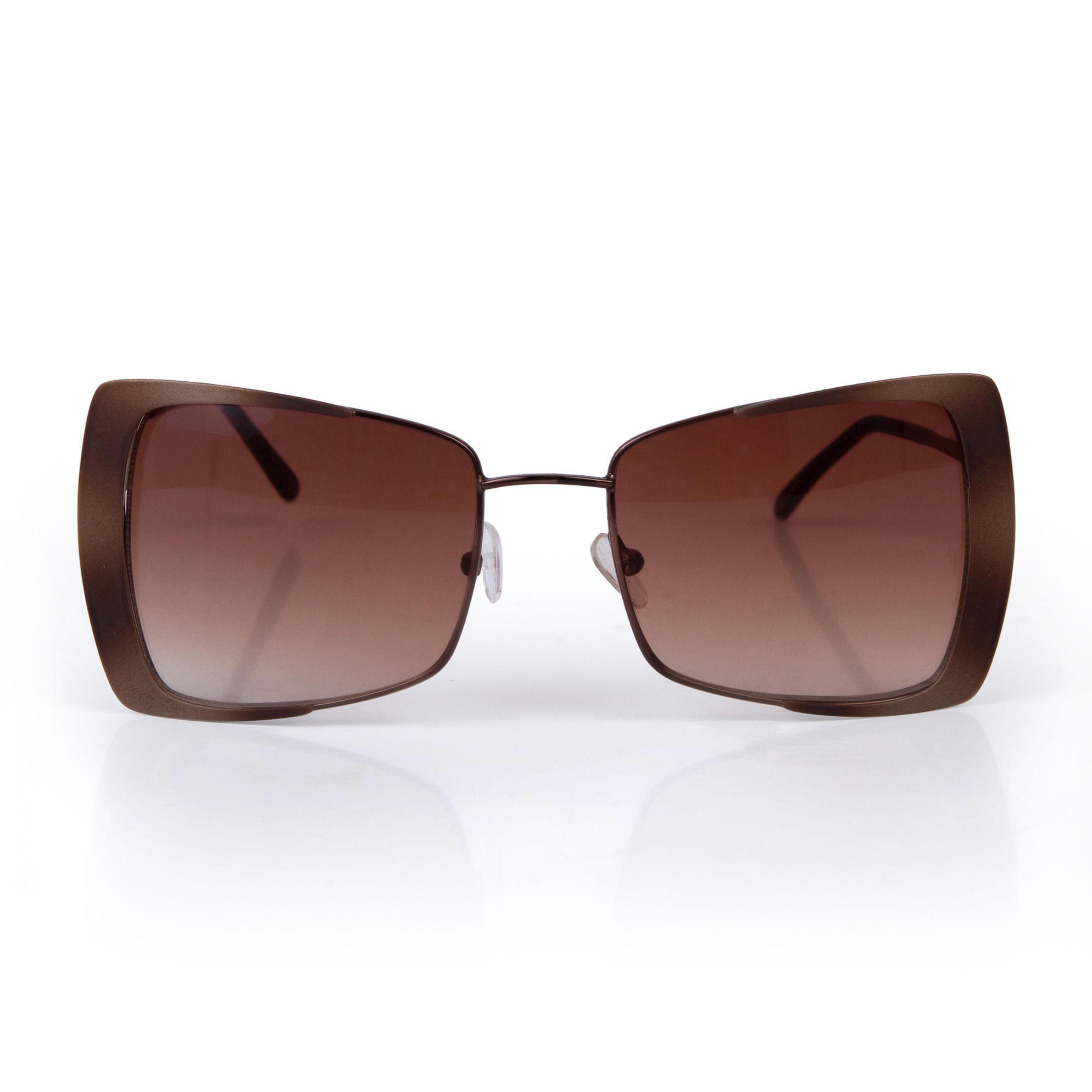 81930d8110f76 Oculos Butterfly Lente Degrade Marrom - morenarosa