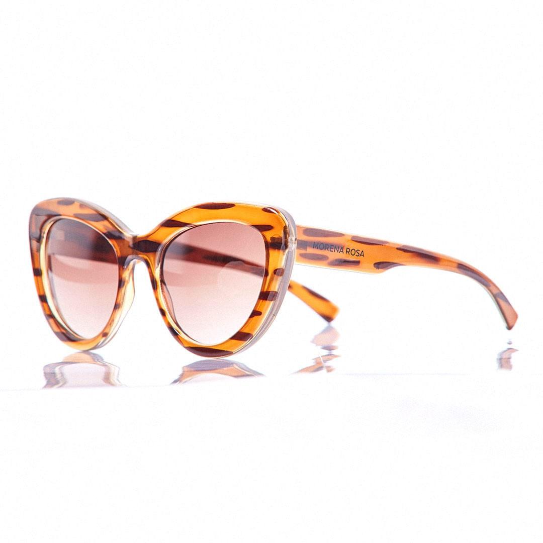 Oculos Gatinho Lente Degrade Marrom - morenarosa e0ac5fbcb7