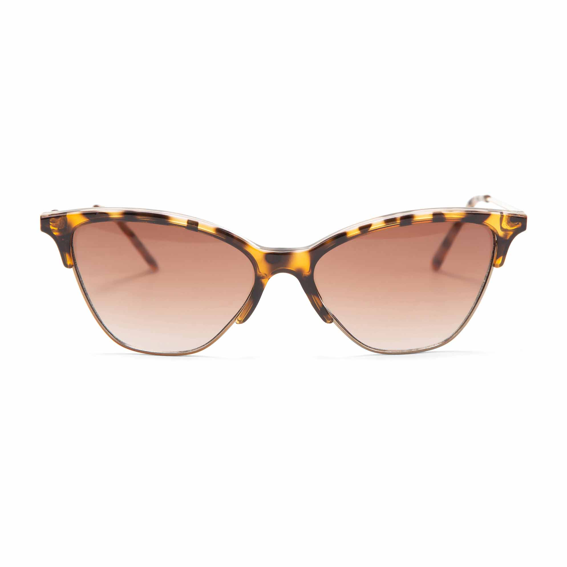 Oculos Gatinho Slim Detalhe Tartaruga Marrom - morenarosa b75d2d71f0